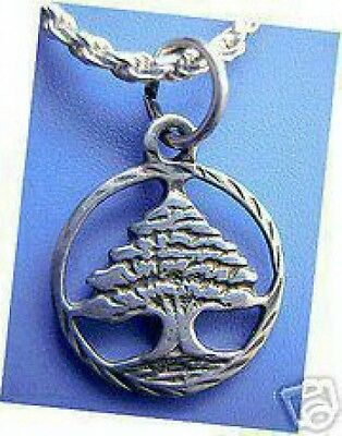 LOOK Silver .925 Holy Family Tree of Life Might Charm Celtic
