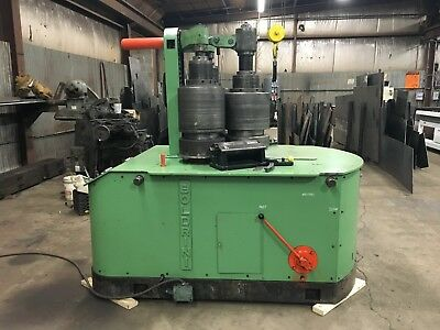 1964 Boldrini 5x5x1/2 ANGLE and Structural BENDING ROLL Model BSA22 rebuilt 2015