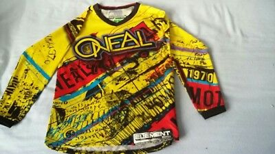 O'Neal Element series Motorcross L/s Top. Size MD Kids