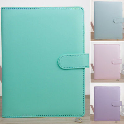Weekly A5 Notebook Cover Macaron Color edubook Hard Diary Book Journal Agenda