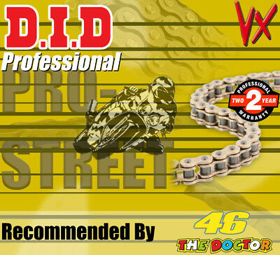 DID Gold  X-Ring  Drive Chain 525 P - 118 L for Honda Motorcycles