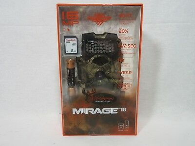 Wildgame Innovations Mirage 16MP Trail Camera w/ Batteries & SD Card  Camo