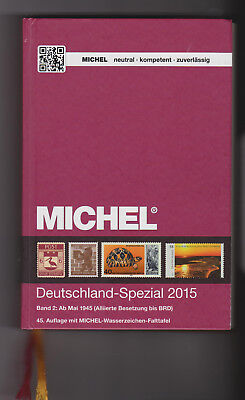 Michel Briefmarken Katalog Deutschland-Spezial 2015 Band 2