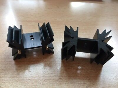 Heat Sink Extruded PCB Mount 7.8 °C/W SOT-32 TO-3P TO-220 42 x 25.4mm  5PCS Z113
