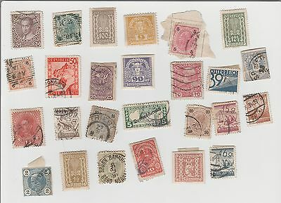 Austria 26 Used Stamps