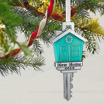 Hallmark Keepsake 2019 New Home Metal Ornament