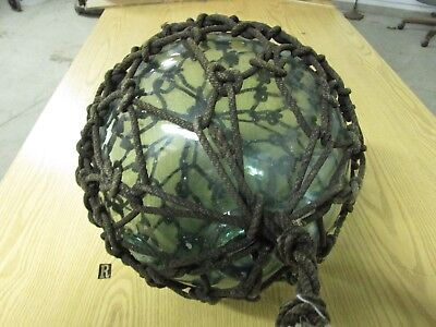 """Japanese Fishing Net Float Ball.   (Approx.40"""" In Circumference)"""