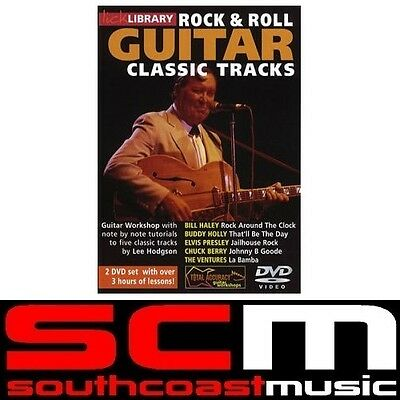 Lick Library Rock and Roll Guitar Tracks DVD