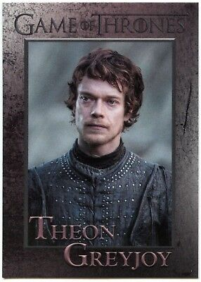 Theon Greyjoy #34 Game Of Thrones Season 7 Rittenhouse 2018 Trade Card (C2426)