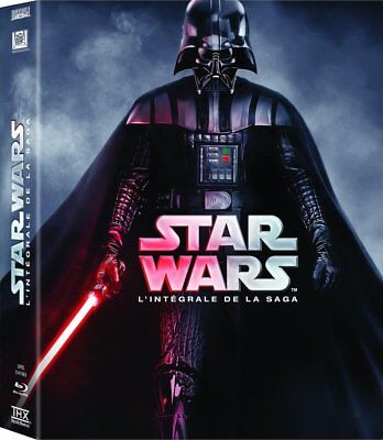 Coffret Blu Ray ** Star Wars L'integrale De La Saga **