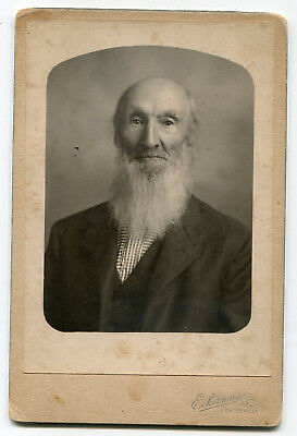 Vintage 1892 Cabinet Card Photo - Interesting Civil War Information on Back