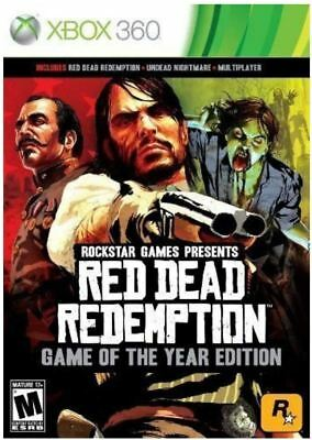 Red Dead Redemption: Game of the Year Edition - Xbox 360 New Sealed