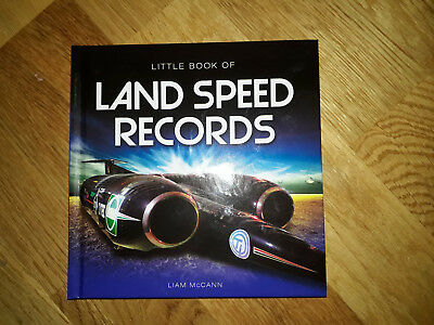 Little Book of Land Speed Records, brand new and signed by Liam McCann