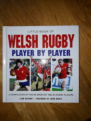 Welsh Rugby Player by Player, brand new and signed by Liam McCann