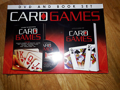 Little Book of Card Games and DVD by Liam McCann
