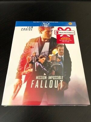 Mission: Impossible Fallout (Blu-Ray Steelbook) (Umaina Exclusive) (OOP/OOS)