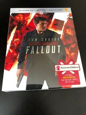 Mission: Impossible Fallout (4K Blu-Ray Steelbook) (Umainia Exclusive) (OOP/OOS)