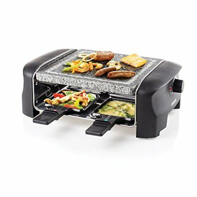 Princess 01.162810.01.001 Raclette 4 Stone Grill Party 33 x 21 x 11,20 cm