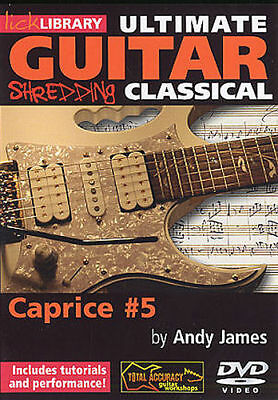 Ultimate Guitar Shredding Tuition Dvd Lick Library Learn To Play Tutorial