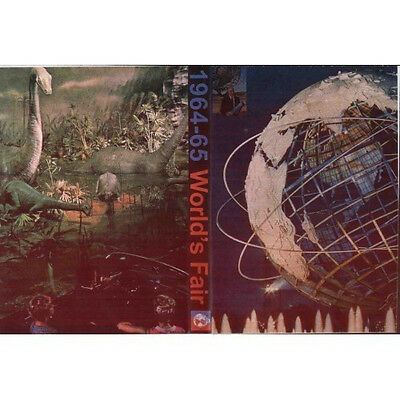 Extinct Attractions Club 1964-1965 New York Worlds Fair Double Dvd