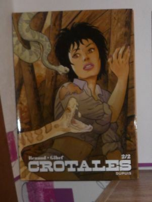 Crotales tome 2 (spin-off Jessica Blandy) - EO 2014 notée 1ère édition
