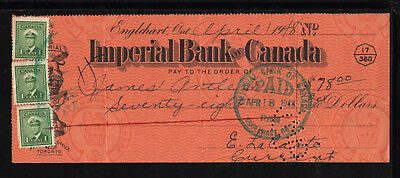 9M1070  1948 Imperial Bank Of Canada - Englehart, Ontario