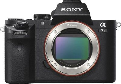 NEW Sony Alpha a7II Mirrorless Interchangeable Lens Camera Body Only ILCE-7M2/B