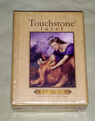 OOP **NEW & SEALED!** Touchstone Tarot Card Deck & Book Set by Kat Black