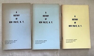 A History Of New Paltz NY Elting Memorial Library Haviland Collection 3 Volumes