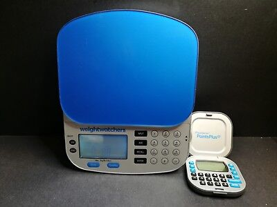 Weight Watchers Electronic Food Scale & Points Plus Calculator~Smoke & Pet Free~