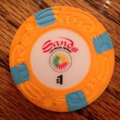 $1 SANDS Hotel and Casino Las Vegas Gaming Chip