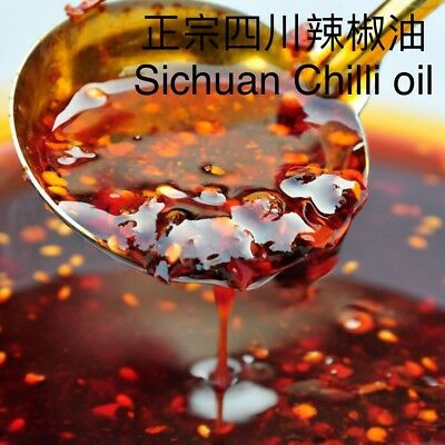 Traditional Sichuan Spicy Chilli Oil