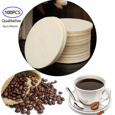 100PCS/ medium speed Funnel filter paper Diameter 9cm/8μm Circular Qualitative
