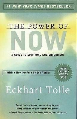 The Power of Now by Eckhart Tolle Guide to Spiritual Enlightenment Free Shipping