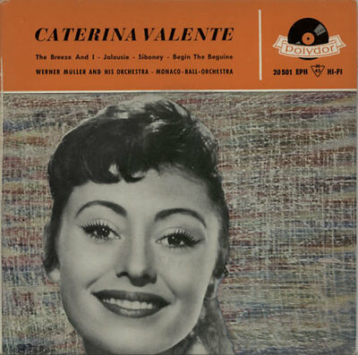 "Caterina Valente Caterina Valente EP German 7"" vinyl single record 20501EPH"