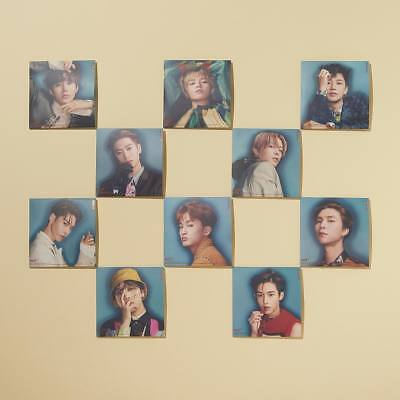 SM TOWN NCT127 1st Repackage Album [NCT #127 REGULATE] Official LP Coaster