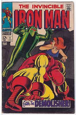 Iron Man (Vol 1) # 2 Very Good (VG) RS003 Marvel Comics SILVER AGE