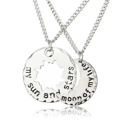 His and Hers Khal Khaleesi Necklaces Game of moon of my life necklace Thrones