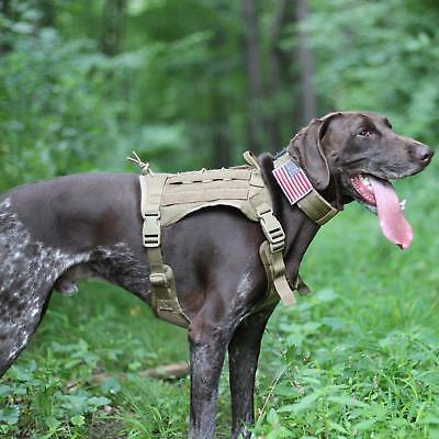 OneTigris Tactical Service Dog Vest – Water-Resistant Comfortable Military