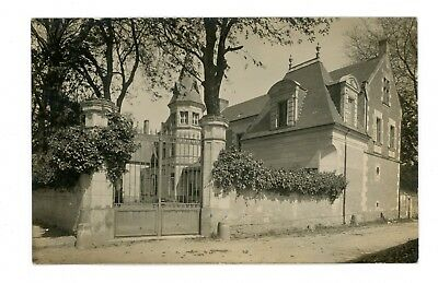 Carte Photo Chateau De La Riviere A Bourgueil
