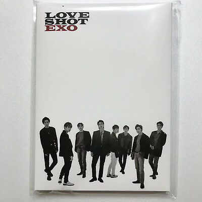 SM Town EXO the 5th Repackage Album [Love Shot] Official Goods : Postcard Set
