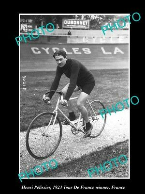 Old Large Historic Cycling Photo Of 1923 Tour De France Winner Henri Pelissier 3