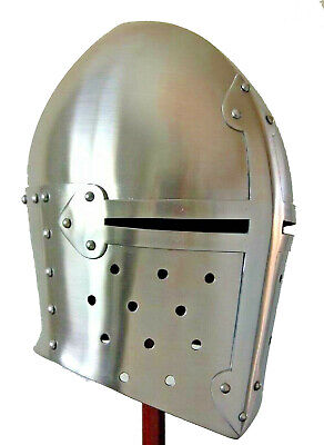 Medieval Suger loaf Armour-Helmet Roman knight helmets-with Inner Liner