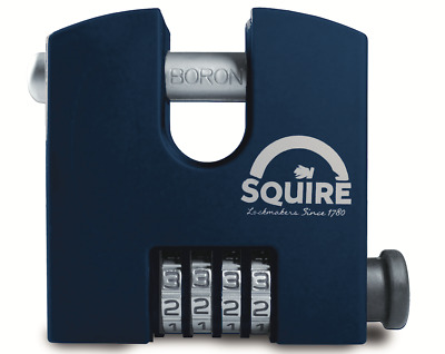 Squire SHCB65 - SHCB High Security Recodable 65mm Block Combination Padlock