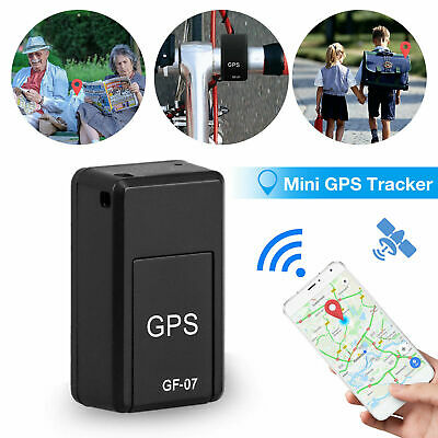 GF07 Mini GPS Real Time Car Locator Tracker Magnetic GPRS /GSM Tracking Device