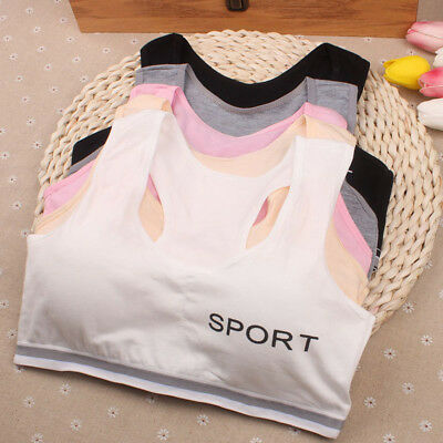 Girls Underwear Bra Vest Children Underclothes Sport Undies Clothes Cotton Soft
