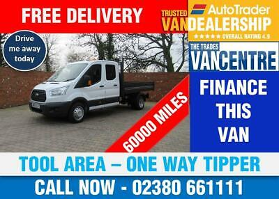 456187d779c86b Ford Transit 350 One Way Double Cab Tipper Lwb 125 Bhp Tool Area 3 Seats