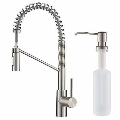 Kraus KPF-2631-KSD-53 Oletto Pull-Down Spray Kitchen Faucet with Dual Function S