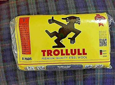 Trollull Steel Wire Wool VARIOUS Grades + lengths available New Stock