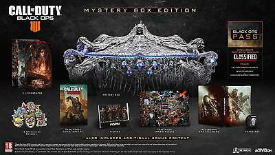Call Of Duty Black Ops 4 Mystery Collectors Box Edition Pc Full English Shop